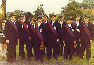 Der Vorstand von 1961
